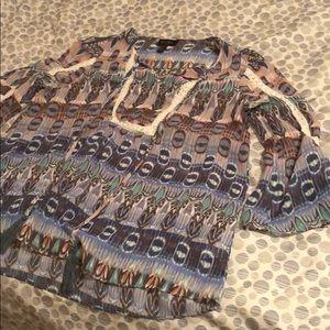 Jessica Simpson boho blouse